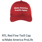 Make America Prolife Again Cap