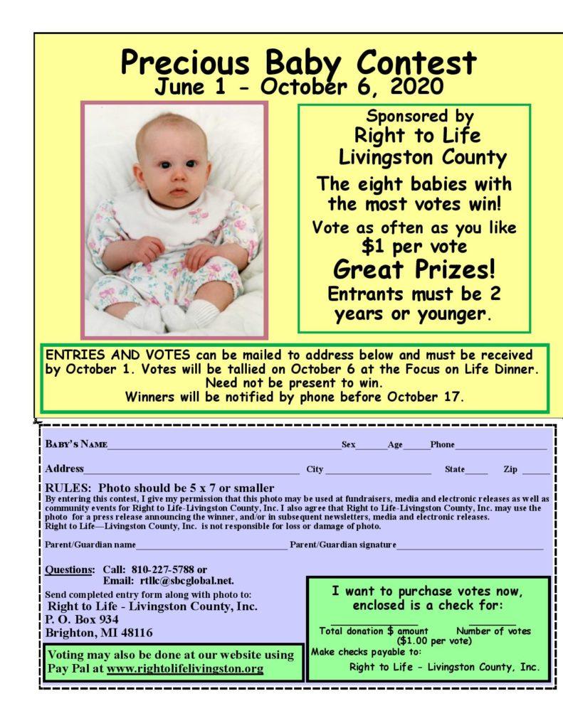 Precious baby contest 2020