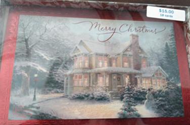 #7 Thomas Kinkade Merry Christmas